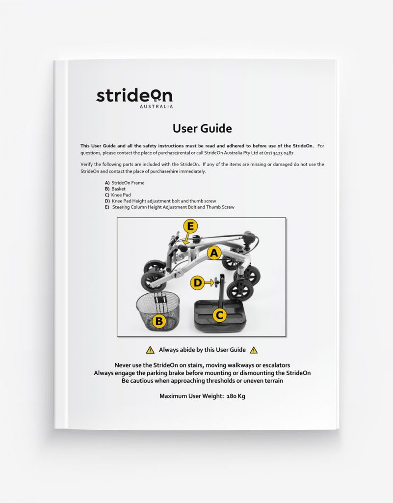 strideon user manual